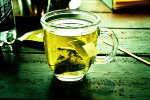 Les composants du thé
