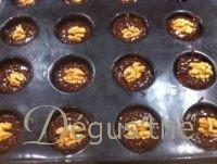 Muffins aux noix et chocolat sans gluten sans lactose
