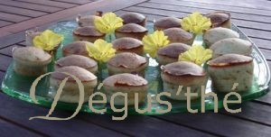 mini muffins à la courgette
