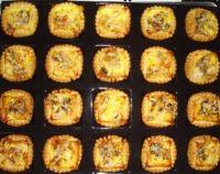 tartelettes poires roquefort